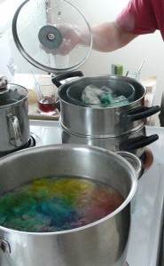 immersion dyeing natural fiber