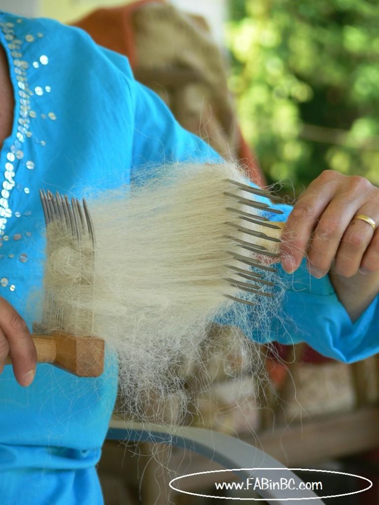 long wool combs