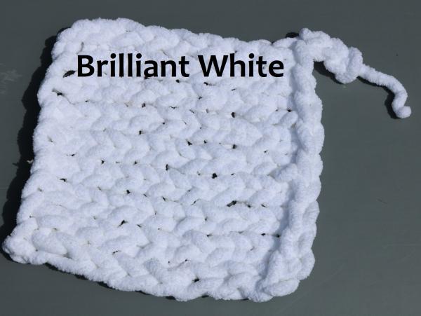 machine washable chenille yarn cozy blankets